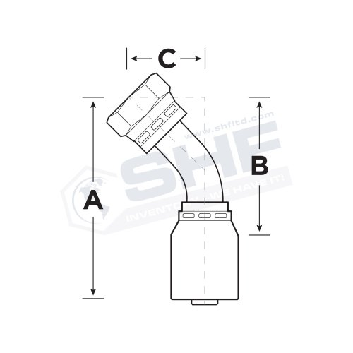 Shf58 Series Stainless Hose Fittings Ltd